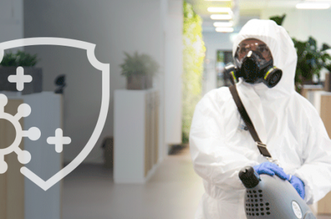 Disinfecting Fogging with Shield
